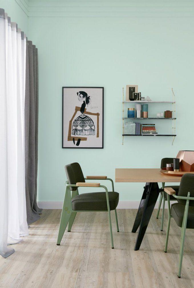 Trendfarbe Macaron – Schöner Wohnenfarbe von Schöner Wohnen Farbe Grün Bild
