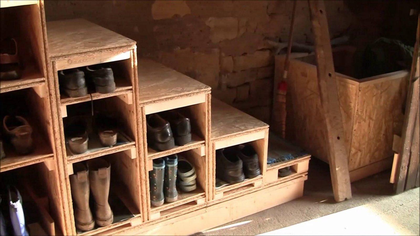 Treppe Selber Bauen Aus Osbverlegeplatten  Youtube von Außentreppe Holz Selber Bauen Bild