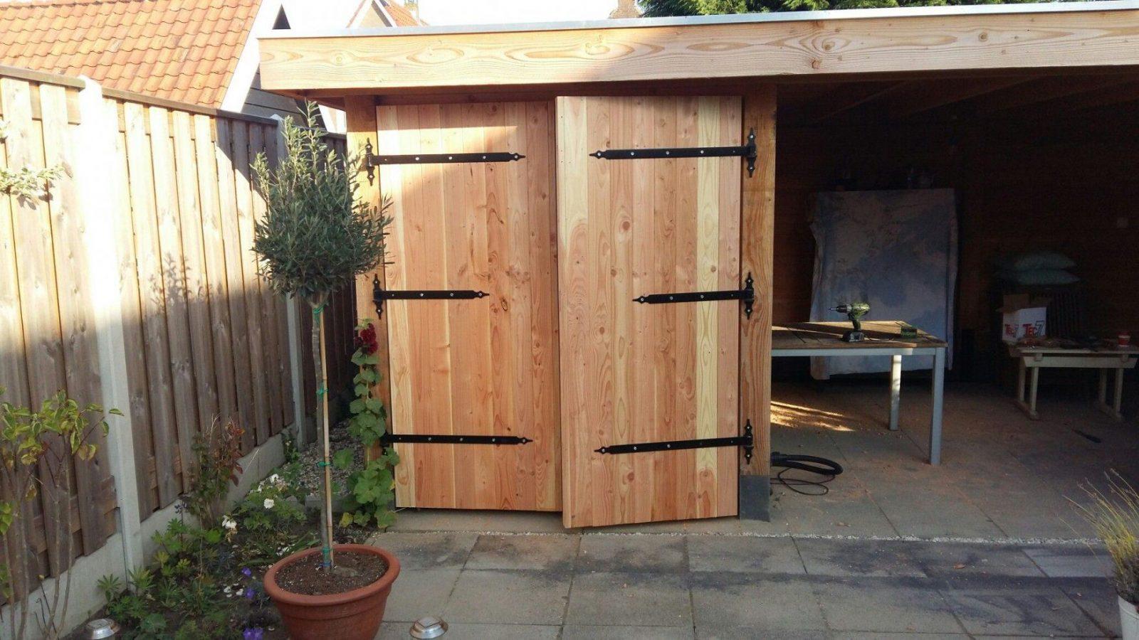 tuinhuis deuren zelf maken garden house doors diy gartenhaus tür von