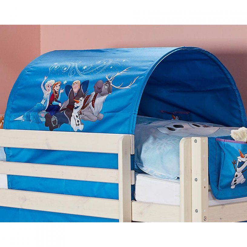 Tunnel Frozen (Die Eiskönigin Blau)  Dänisches Bettenlager von Vorhang Hochbett Dänisches Bettenlager Photo