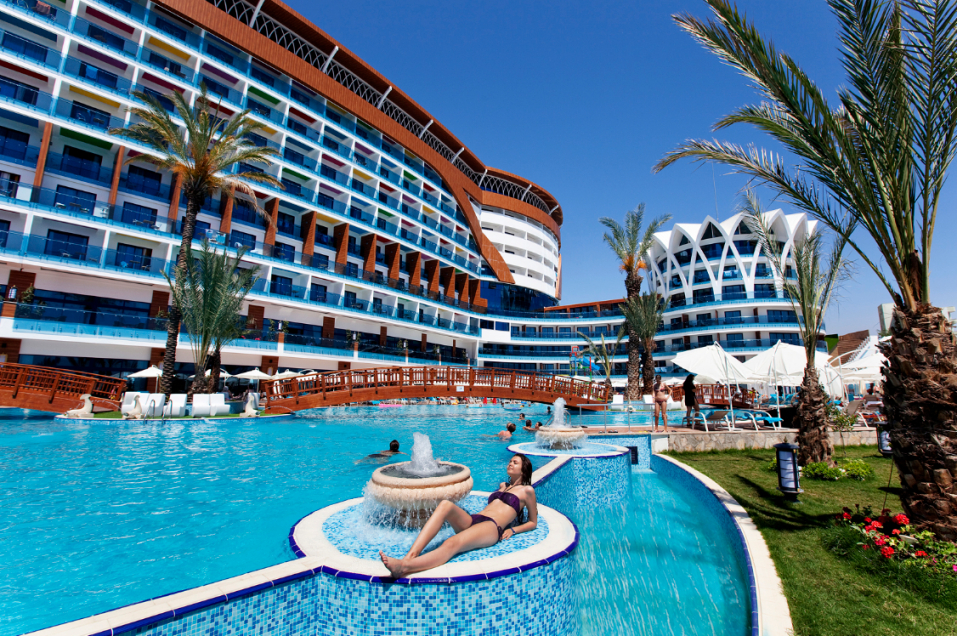 Turkije Alanya Hotel Eftalia Resort Alanya 4* Gezellig von Vikingen Infinity Resort & Spa Bewertung Photo
