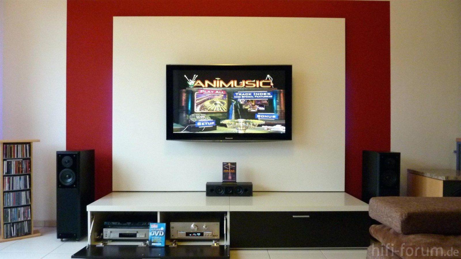Tv Verstecken Fernseherwand Home Design Ideas Kabel Ikea Flat von Fernseher Wandmontage Kabel Verstecken Bild