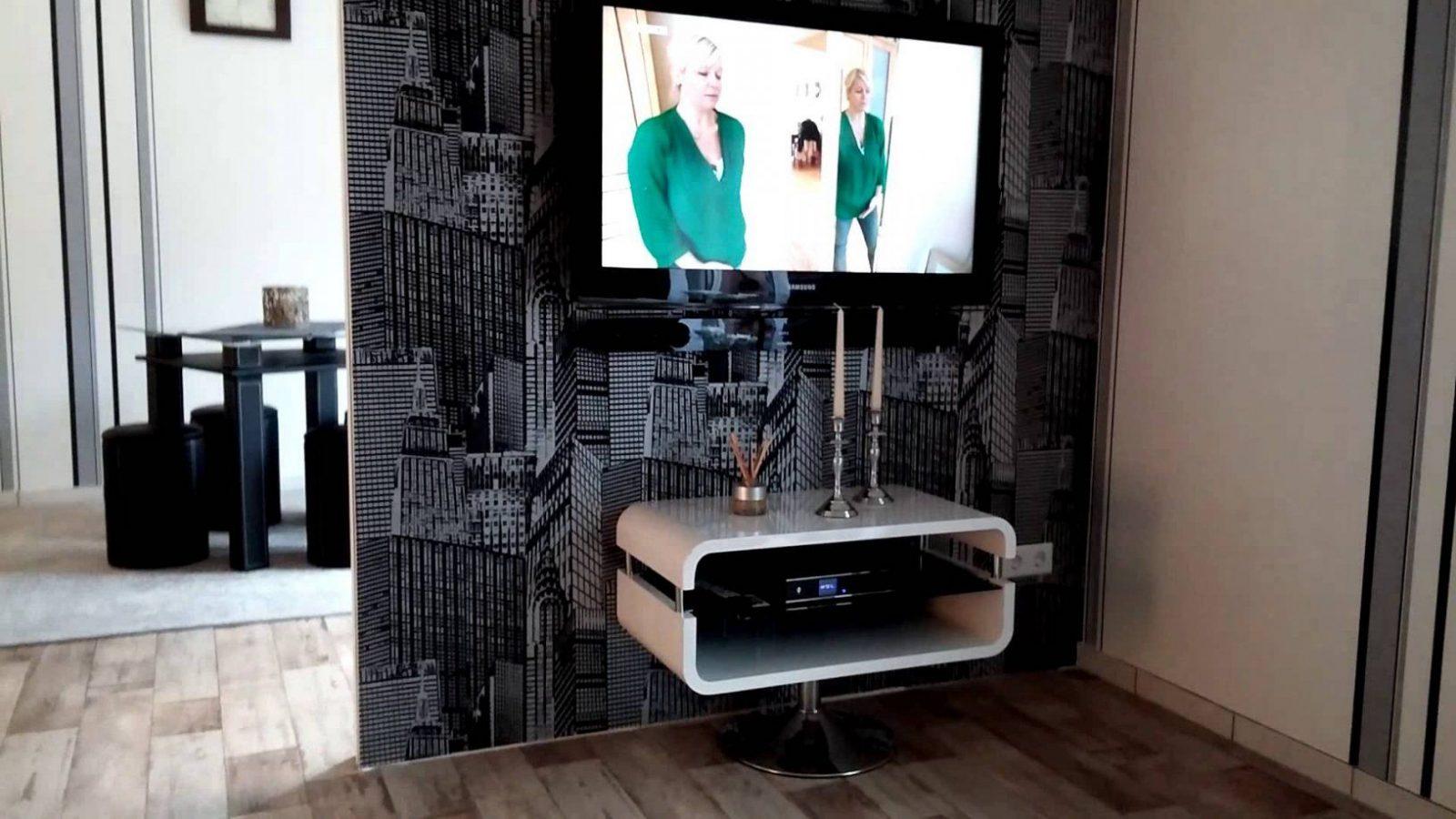 Tv Wand Raumteiler  Youtube von Raumteiler Wand Selber Bauen Photo