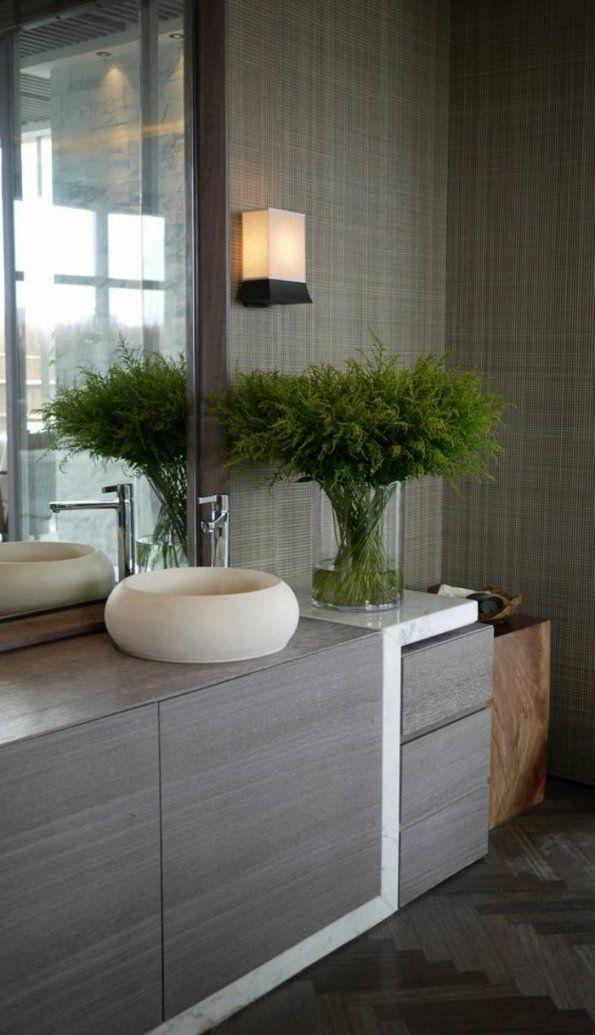 Unglaubliche Badezimmer Deko Ideen Badezimmer Deko Pflanze Und von ...