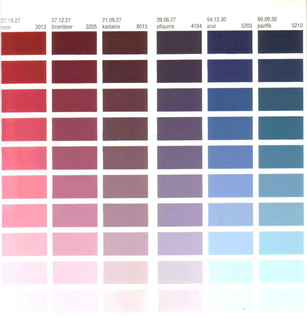 Unglaubliche Ideen Wandfarbe Grün Palette Und Schöne Modern Avec von Ral Farben Mischen Tabelle Photo