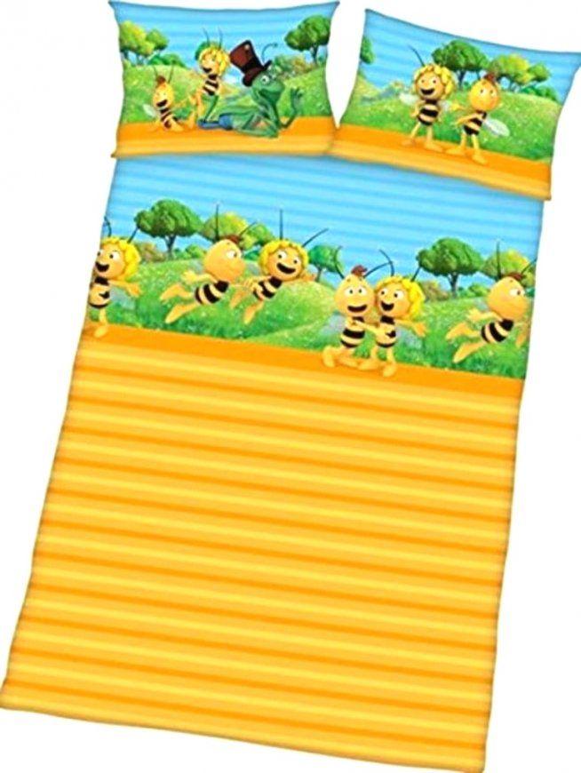 Kinderbettwäsche Biene Maja 135x200 Dänisches Bettenlager Von