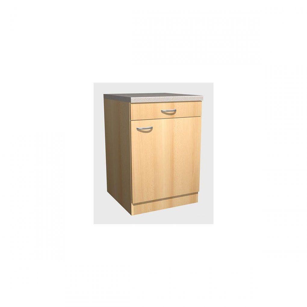 Unterschrank Nano Buche Nachbildung Ca 60 X 85 X 57 Cm  Möbel Boss von Möbel Boss Küchen Unterschrank Bild