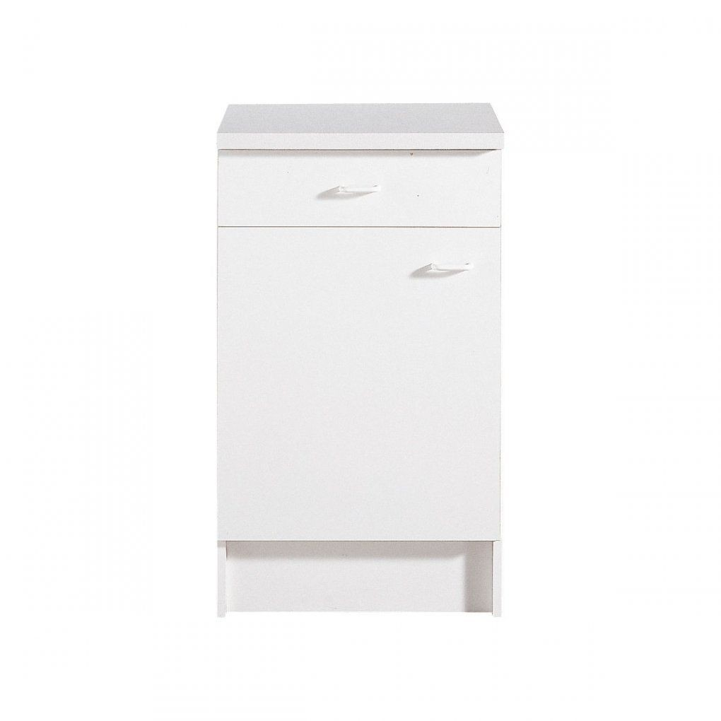 Unterschrank Speed Weiß Nachbildung 50 X 85 X 47 Cm  Möbel Boss von Möbel Boss Küchen Unterschrank Photo