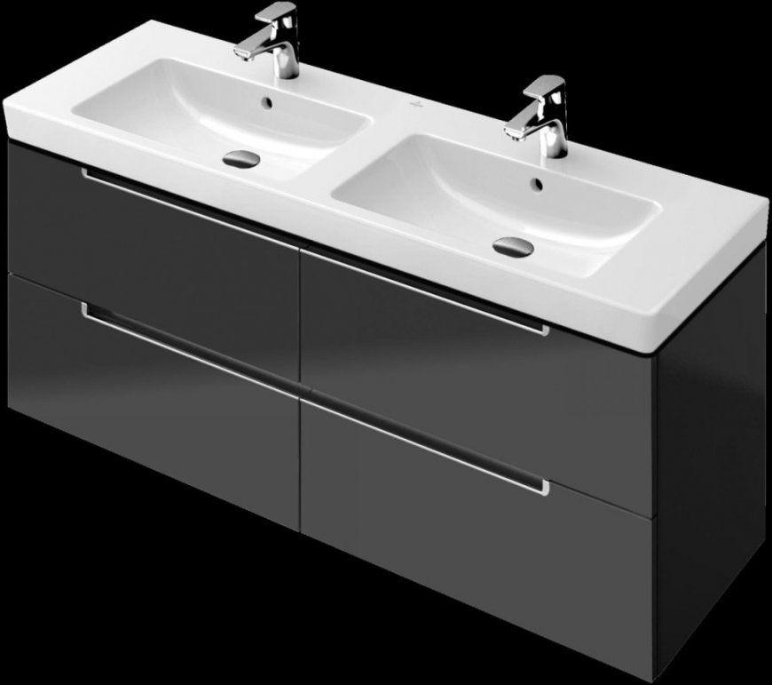 Unterschrank Und Spiegelschrank Waschtisch Villeroy & Boch von Villeroy Und Boch Doppelwaschbecken Mit Unterschrank Bild