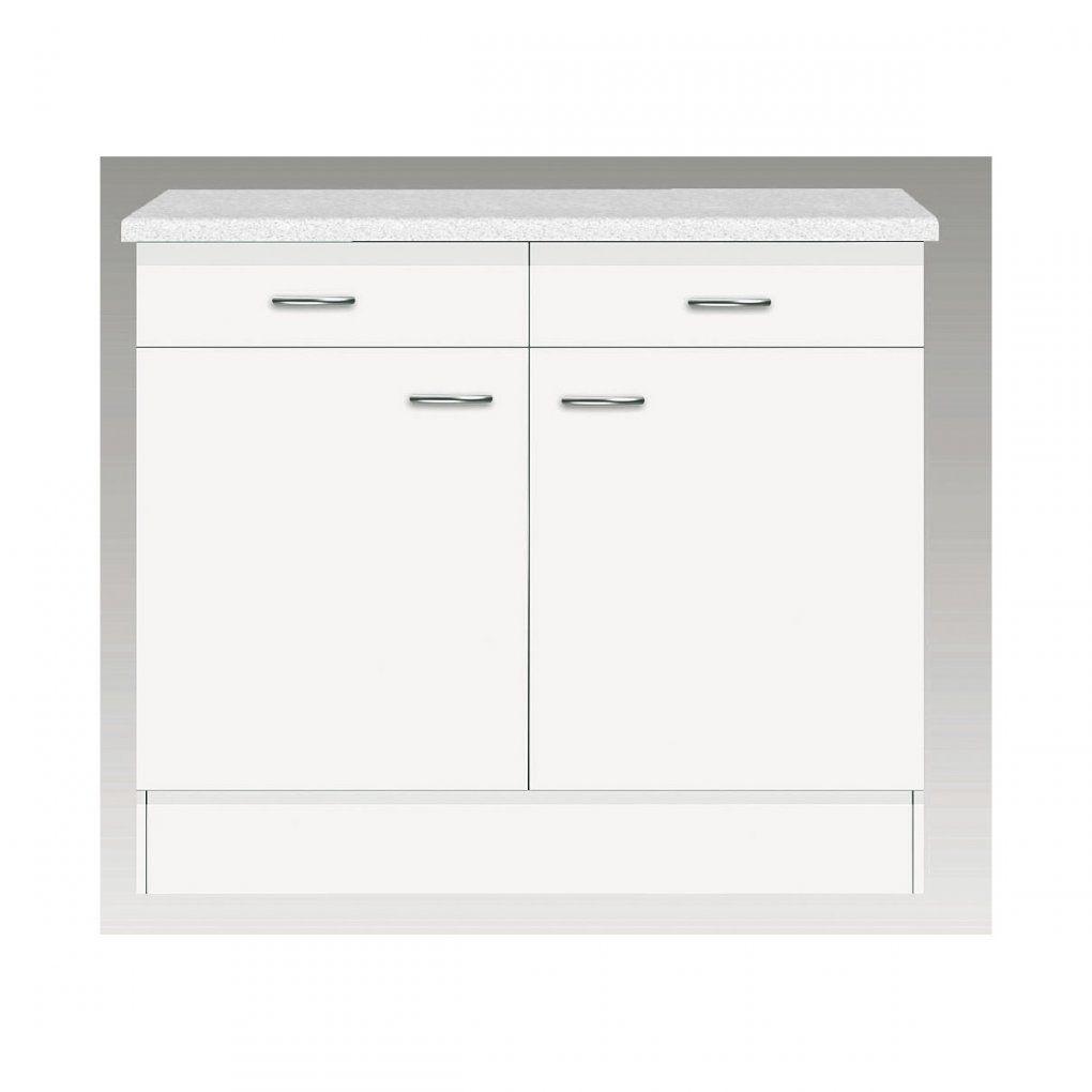 Unterschrank Weiß Ca 100 X 85 X 57 Cm  Möbel Boss von Möbel Boss Küchen Unterschrank Photo