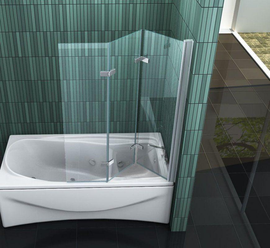Vario 130 X 140 Badewannen Faltwand Duschwand Duschabtrennung Dusche von Duschwand Glas Für Badewanne Bild