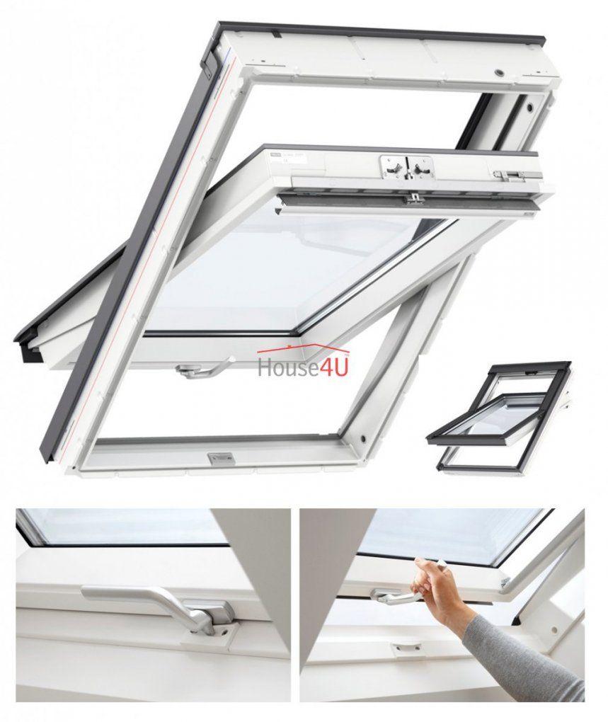 Velux Dachfenster Glu 0061 B 3Fachverglasung Uw= 11 von Velux 3 Fach Verglasung Bild