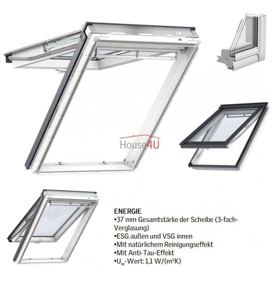 Velux Dachfenster Gpu 0068 Kunststoff Klappschwingfenster 3Fach von Velux 3 Fach Verglasung Bild