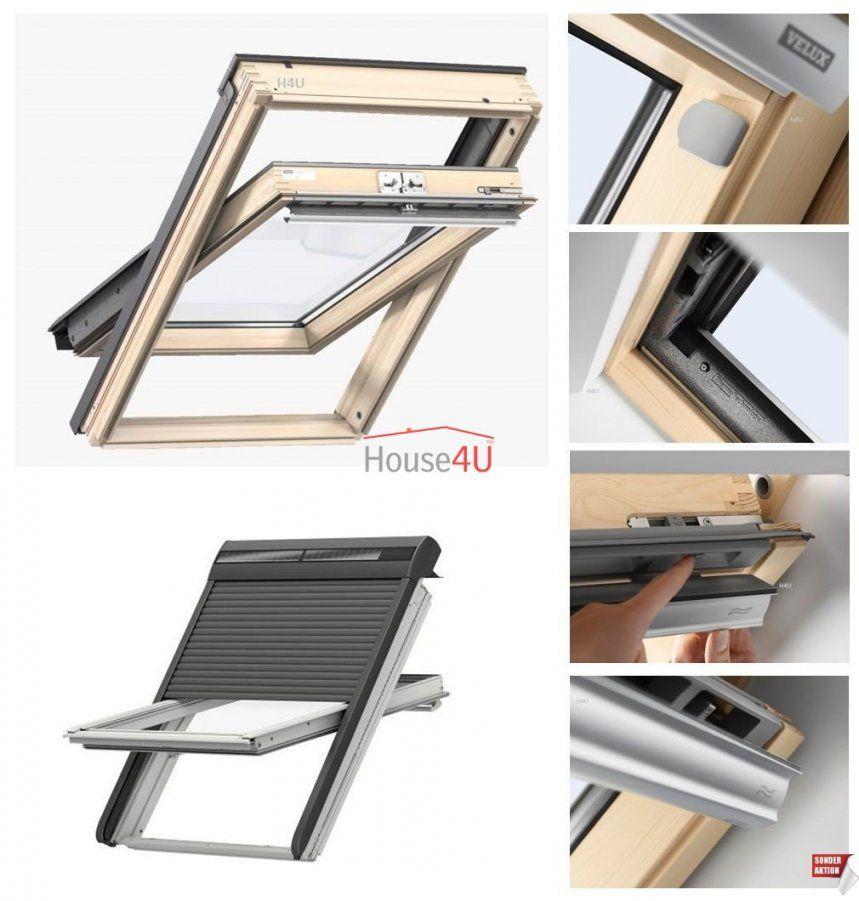 Velux Schwingfenster Gll 1061 3Fachverglasung Holz Klar Lackiert + von Velux 3 Fach Verglasung Bild