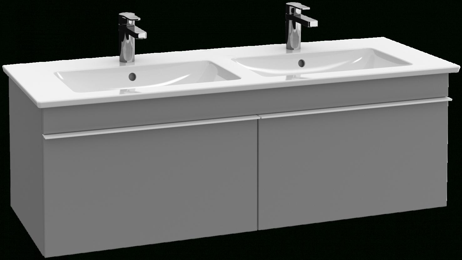 Venticello Onderkast A93901  Villeroy & Boch von Villeroy Und Boch Doppelwaschbecken Mit Unterschrank Bild