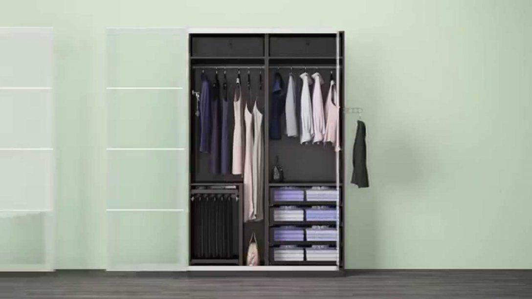 Verschiedene Komplement Lösungen In Einem Ikea Pax Kleiderschrank von Ikea Schrank Selber Planen Photo
