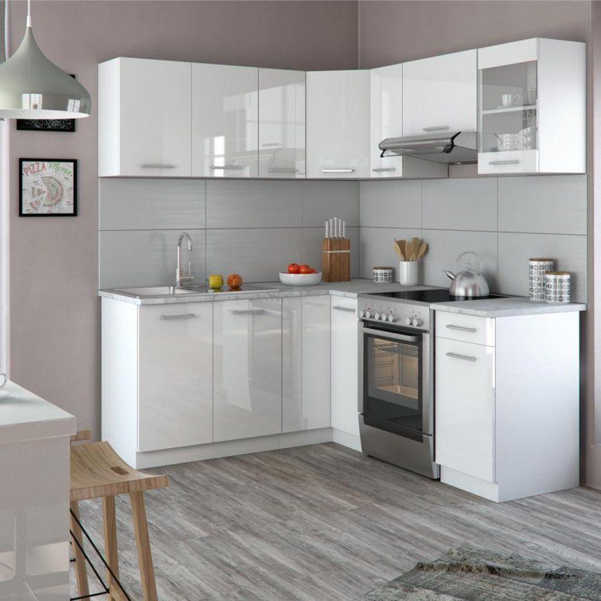 Vicco Küche Küchenzeile Lform Küchenblock  Real von Einbauküche L Form Günstig Bild