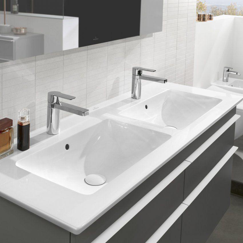 Villeroy & Boch Venticello Schrankdoppelwaschtisch 130 X 50 Cm von Villeroy Und Boch Doppelwaschbecken Mit Unterschrank Photo