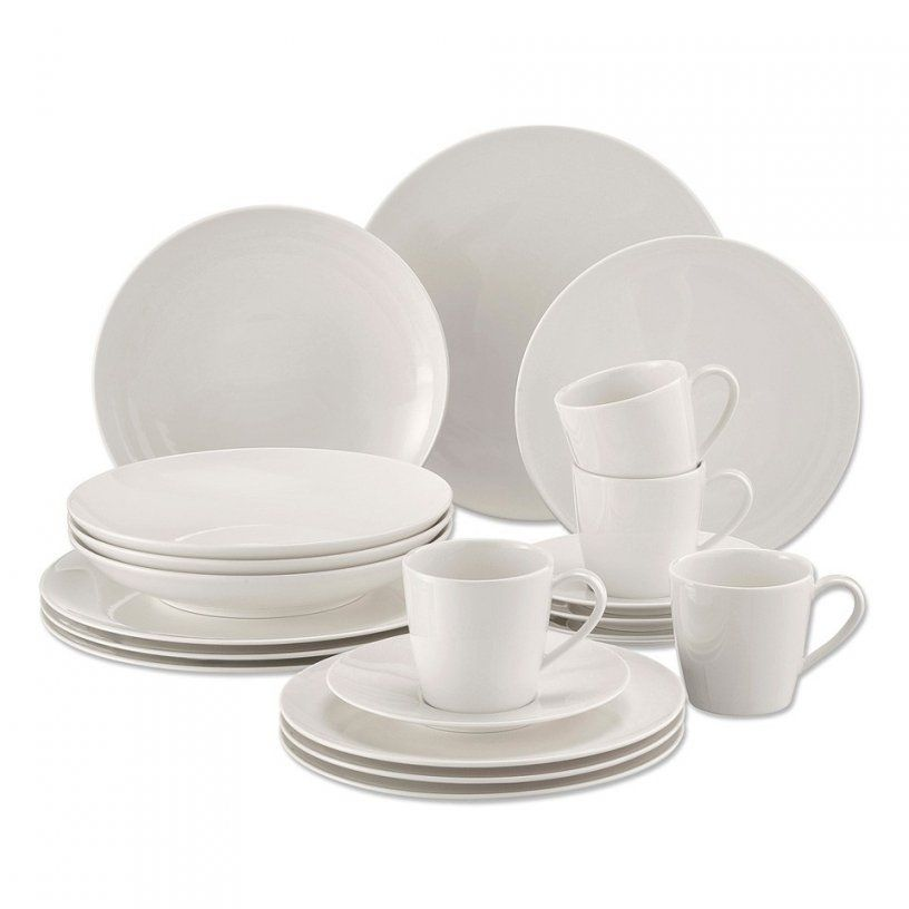 Villeroy & Boch Vivo Serviesset  20Delig  Wit  Blokker von Villeroy & Boch Royal Basic Set 30 Tlg Photo