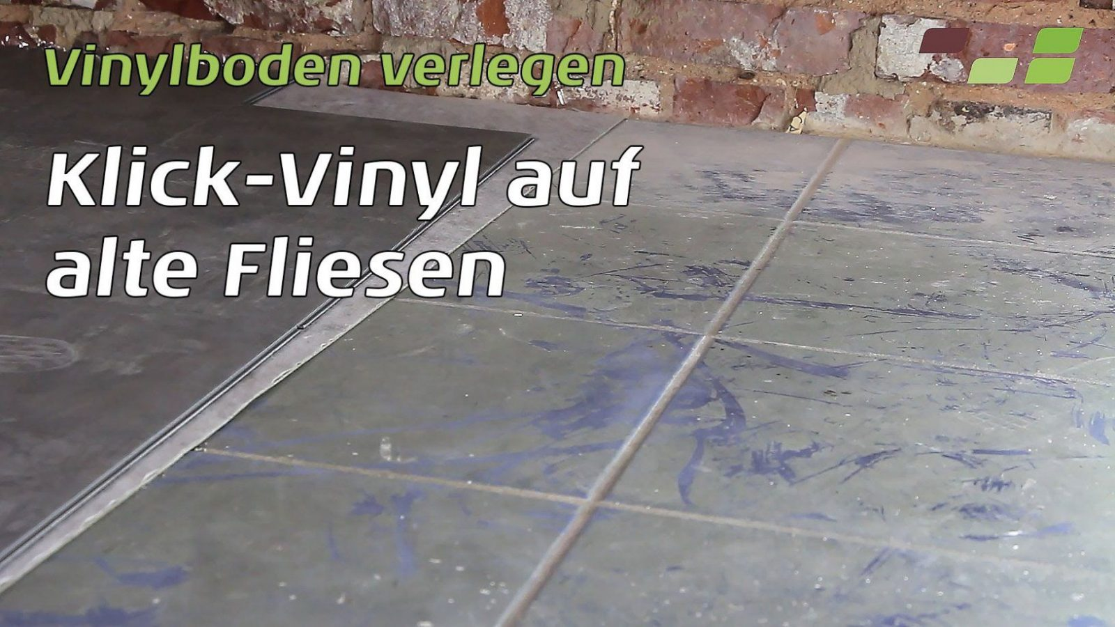 Vinylboden Auf Fliesen Verlegen Planeo Klickvinyl  Youtube von Vinyl Auf Fliesen Legen Photo