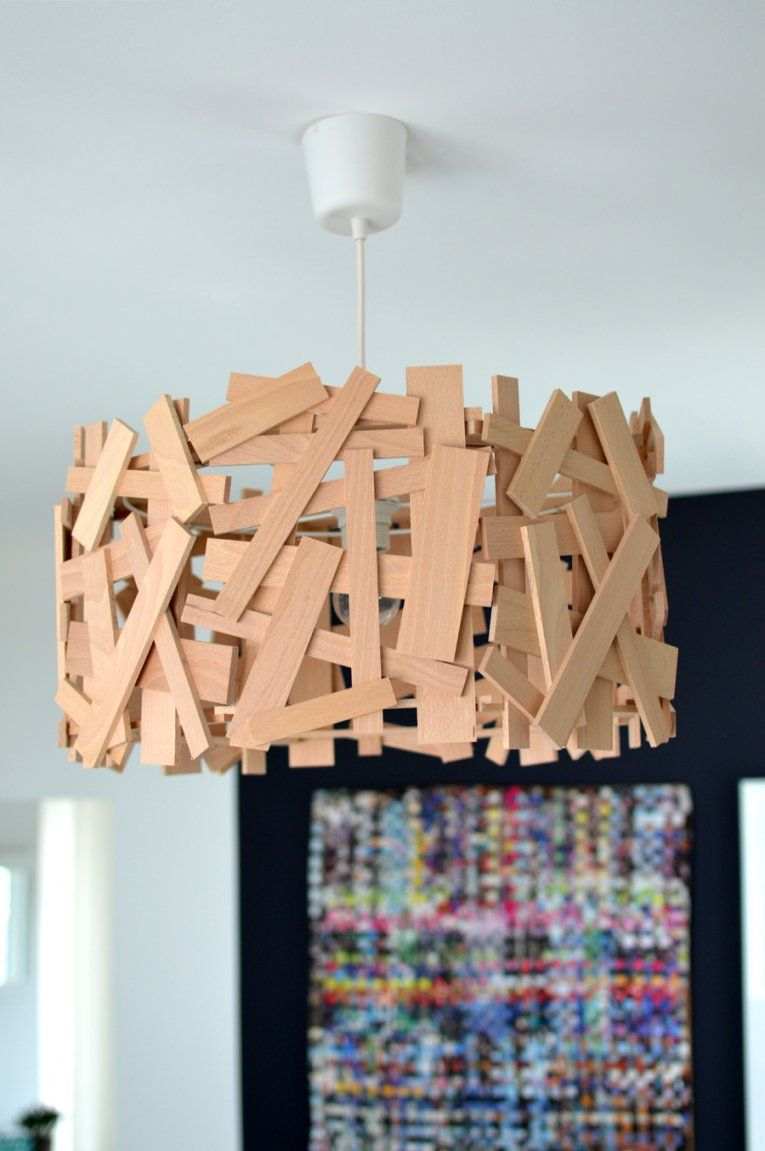 Von Der Diyidee Zur Professionellen Lampe von Do It Yourself Lampenschirm Photo