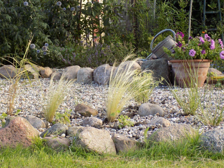 Vorgarten Gestalten Mit Kies Und Gräsern  Die Schönsten von Vorgarten Gestalten Mit Kies Und Gräsern Bild