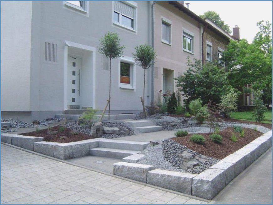 Vorgarten Gestalten Mit Kies Und Grasern von Vorgarten Gestalten Mit Kies Bild