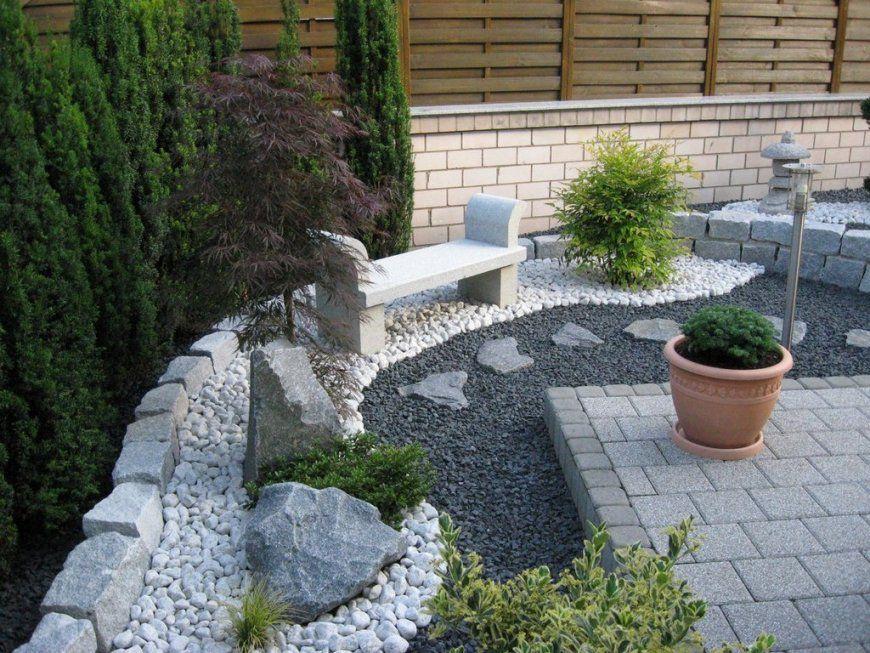 Vorgarten Gestalten Modern von Vorgarten Gestalten Mit Kies Bild