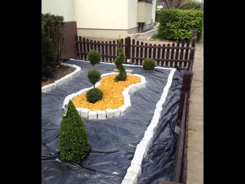 Vorgrten Gestalten Mit Kies Bilder Garten Anlegen Mit Steinen von Vorgarten Gestalten Mit Kies Bild