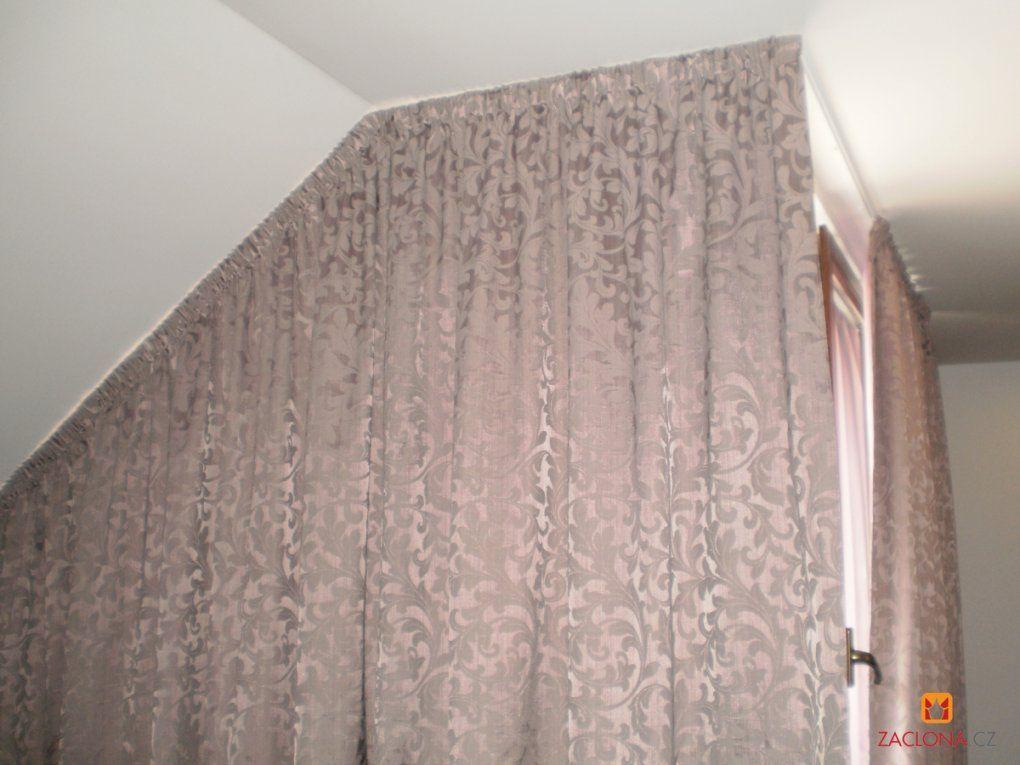 Vorhang Dachschräge Befestigen Als Raumteiler von Gardinen An Der Decke Befestigen Photo