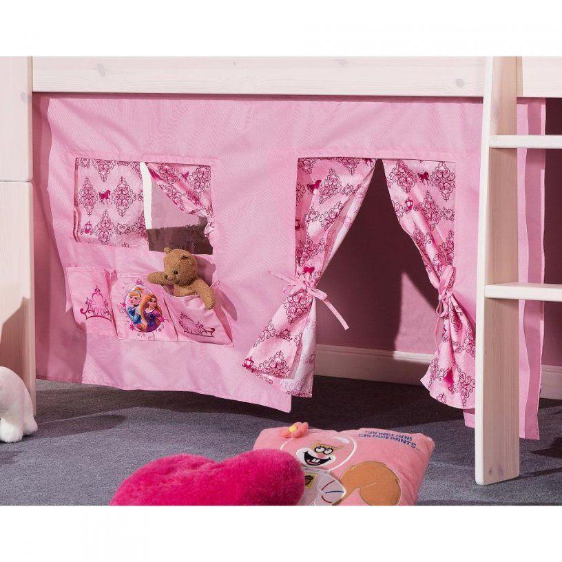 Vorhang Princess Für Bett Corinna  Rosa Vorhänge Kinderbett von Vorhang Hochbett Dänisches Bettenlager Photo