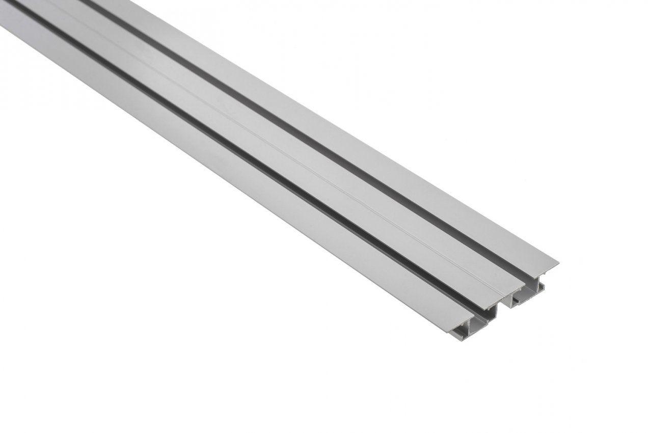 Vorhangschiene Aluminium Tara 2Läufigm10040 von Vorhangschiene Alu 2 Läufig Bild