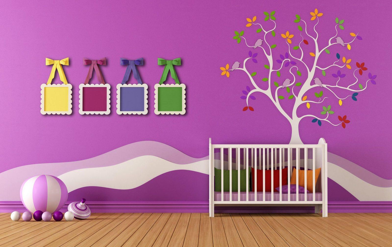 Wandgestaltung Kinderzimmer Mit Farbe Mit Kinderzimmer von Wandgestaltung Kinderzimmer Mit Farbe Bild