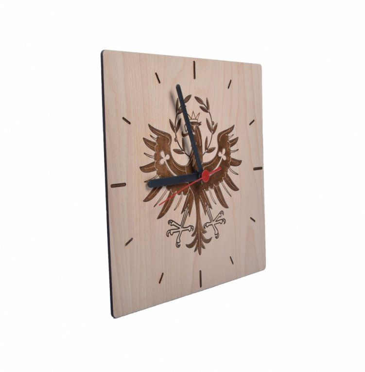 wanduhr holz modern lightbox with wanduhr holz modern. Black Bedroom Furniture Sets. Home Design Ideas