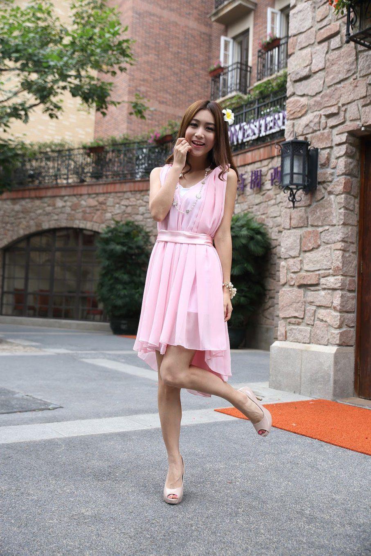 Was Passt Zu Rosa Mit Modepol Kleid In Altrosa Kombinieren 22 Und von Welche Farbe Passt Zu Beige Kleidung Photo