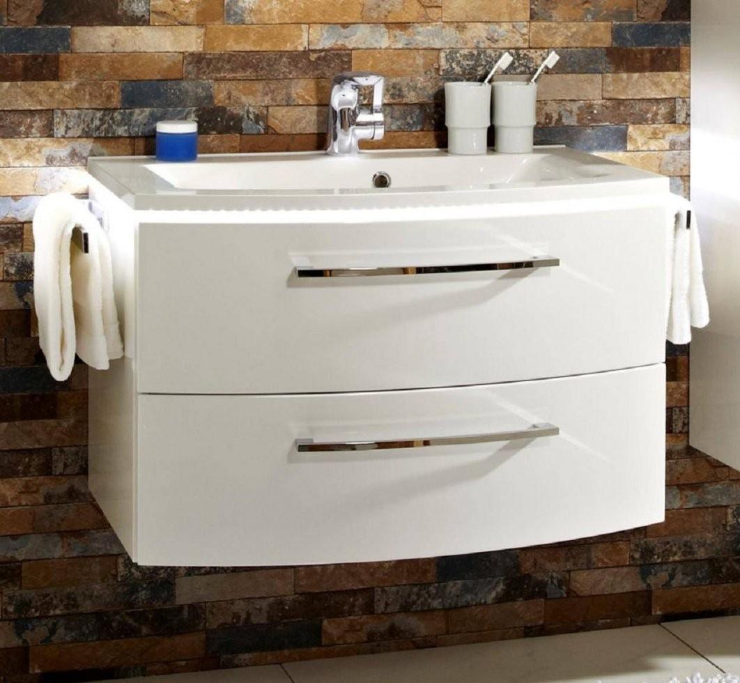 Waschbecken Cm Breit Mt51 Hitoiro Waschbeckenunterschrank Weis Von von Waschtisch Mit Unterschrank 70 Cm Breit Photo