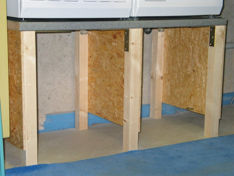 Wasserbett Selber Bauen Ideen Avec Podest Selber Bauen Et Img 4016 von Waschmaschinen Podest Selber Bauen Holz Photo