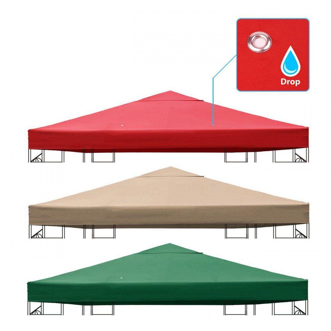 Wasserdicht Pavillon Dach Dachplane Ersatzdach Ersatz Plane 3X3 M von Pavillon Dach 3X3M Wasserdicht Ersatzdach Photo