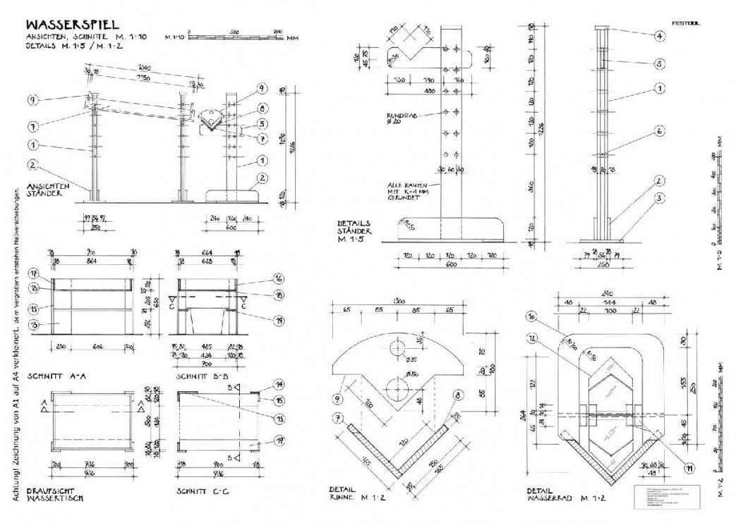 Wasserspielplatz Selber Bauen Anleitung Mit Bauplan Wasserspiel von Hobelbank Selber Bauen Bauanleitung Photo