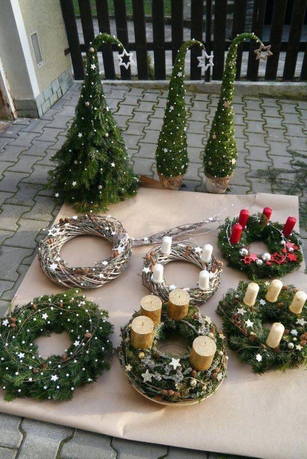 Weihnachtsdeko Aussen Weihnachtsdeko Selber Avec Weihnachtsdeko von Weihnachtsdeko Aussen Selber Basteln Bild