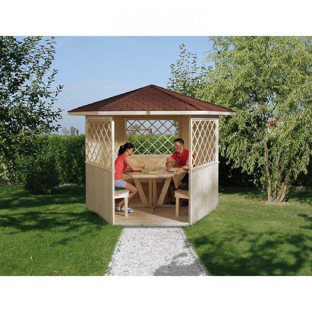 Weka 6Eckpavillon Mainau Kaufen Bei Obi von Pavillon 6 Eckig Selber Bauen Photo