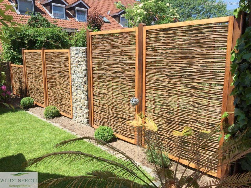 Wenn Der Nachbar Rüber Schaut Sichtschutz Ohne Grenzen von Schöner Sichtschutz Für Den Garten Photo