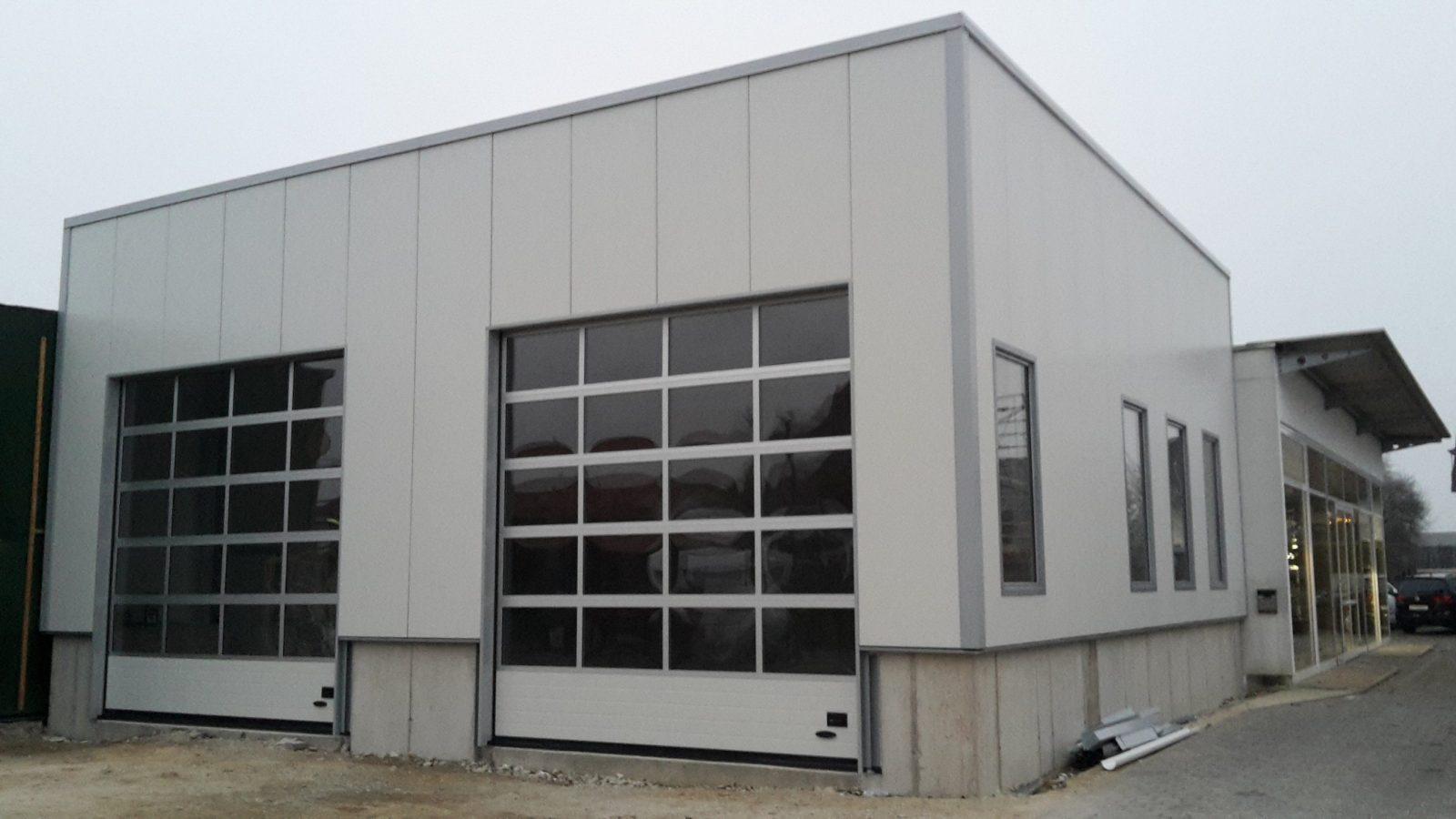 Werkstatthalle Bauen  Hallenbau Individuell  Hacobau Gmbh von Kfz Werkstatt Bauen Kosten Bild