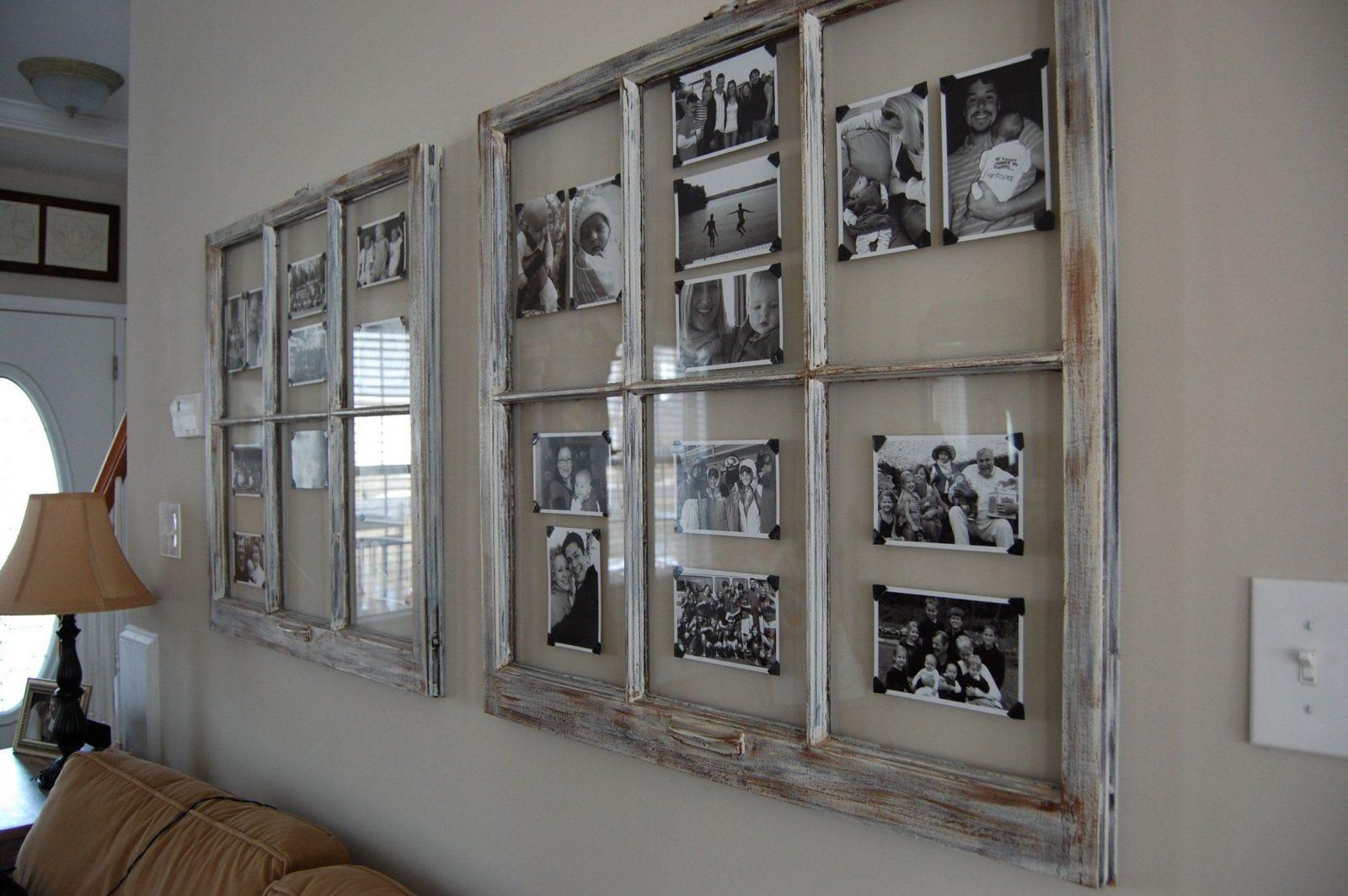 Wir Haben Schöne Alte Fenster Wäre Eine Gute Idee Für Den Flur von Dekoration Mit Alten Fenstern Bild