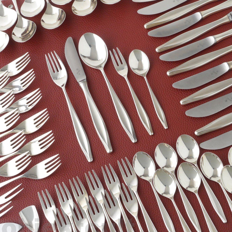 Wmf Besteck Essbesteck Brüssel 5500 68Tlg 12 Pers Silberbesteck von Wmf Besteck Florenz 68 Teilig Photo