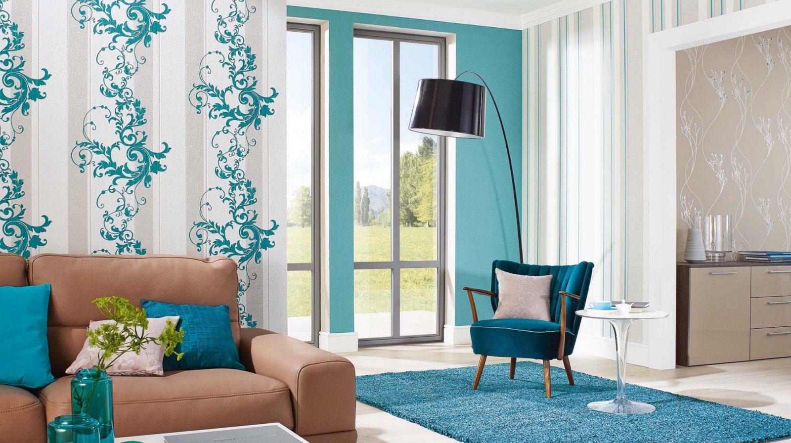 Wohnideen  Wandfarbe Fürs Wohnzimmer Auch Schön Gardinen Trends von Gardinen Trends Fürs Wohnzimmer Bild