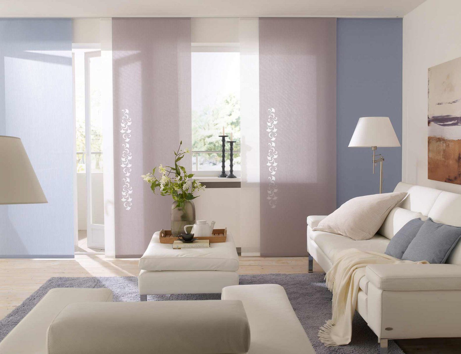 Wohnliche Atmosphäre Dank Gardine Und Co  Wohnen von Fenster Gestalten Ohne Gardinen Bild