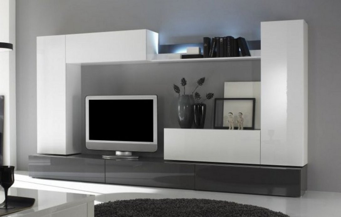 Wohnwand Modern Weiß Hochglanz – Deutsche Dekor 2017 Ist Oberteil von Designer Wohnwand Weiß Hochglanz Photo