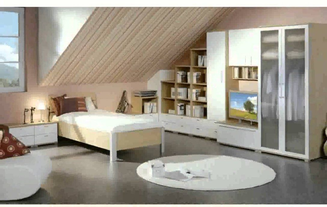 Wohnzimmer Mit Dachschräge Ideen  Youtube von Tapeten Schlafzimmer Mit Schräge Bild