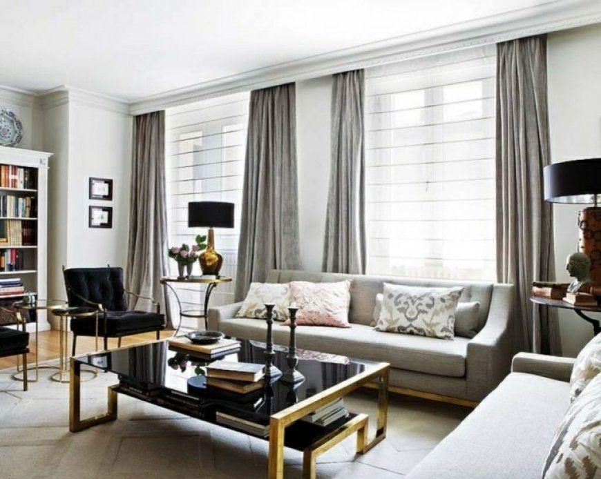 Wohnzimmer Moderne Gardinen Moderne Wohnzimmer Fenstergestaltung And von Fenstergestaltung Mit Gardinen Beispiele Photo